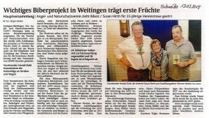 Pressebericht SchwaBo vom 13.03.2017